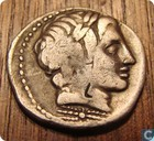 Romeinse republiek, AR Denarius, 86 BC, Gargilius, Ogulnius en Vergilius, Rome