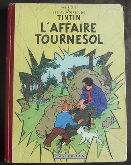 Tintin 17 - L'affaire Tournesol - hc - 1° druk (1956)