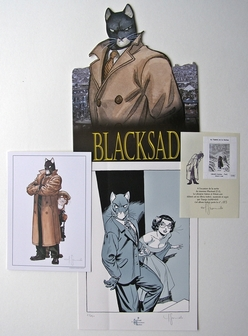 Blacksad - Guarnido - 4 verschillende items - (2004 / 2006)