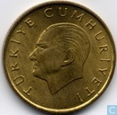 Coin - Turkey - Turkey 100 lira 1989