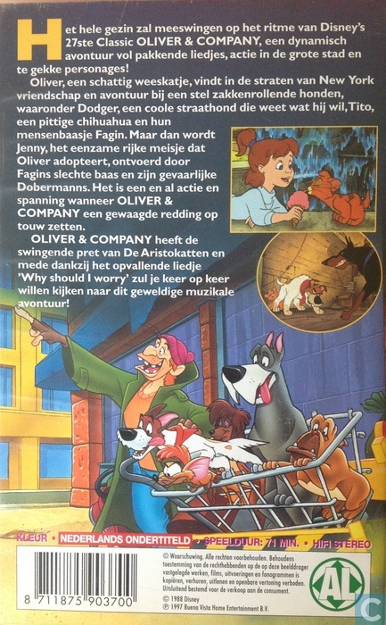 Oliver & Company - VHS video tape - Catawiki