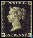 Oldest item - Queen Victoria Penny Black