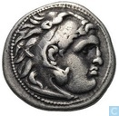Oldest item - Kingdom Macedonia-AR Drachma Alexander the great Kolophon 301-297 BC.