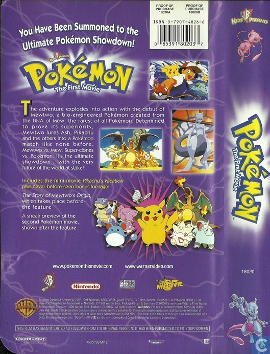 Pokemon Vhs Collection Images Pokemon Images