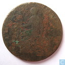 "Oudste item - MACCLESFIELD HALFPENNY 1791 ""CHARLES ROE ESTABLISHED THE COPPER WORKS 1758"""