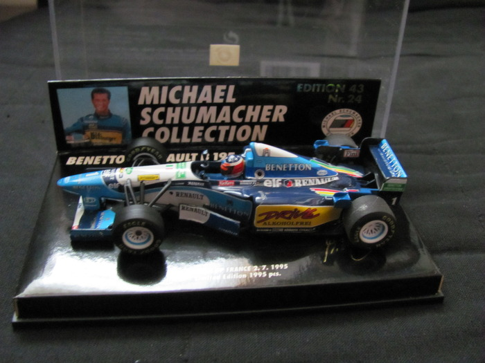 Collection Nr. 24  scale 1/43  F1 Benetton Renault B 195/2
