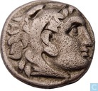 Oldest item - Kingdom Macedonia-AR Drachma Alexander the great Abydos 310-301 BC