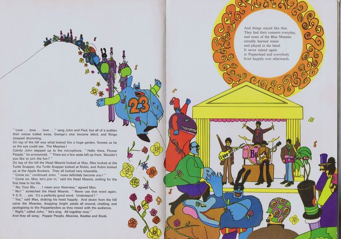 the beatles book the yellow submarine gift book world distributors original uk 1968 catawiki. Black Bedroom Furniture Sets. Home Design Ideas