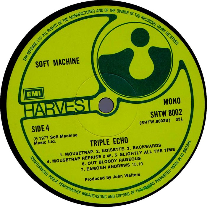 Soft Machine Triple Echo