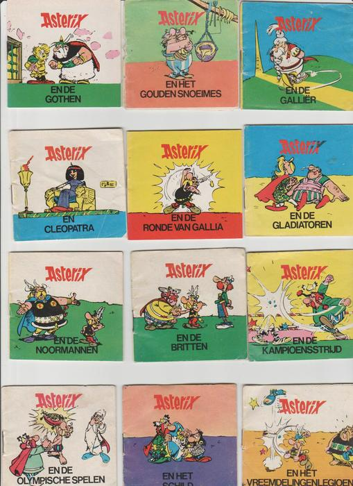 asterix complete set van 12 publicitaire strips sc 1972 catawiki. Black Bedroom Furniture Sets. Home Design Ideas