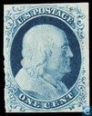 "Oldest item - Presidents with inscription ""U.S. POSTAGE"""