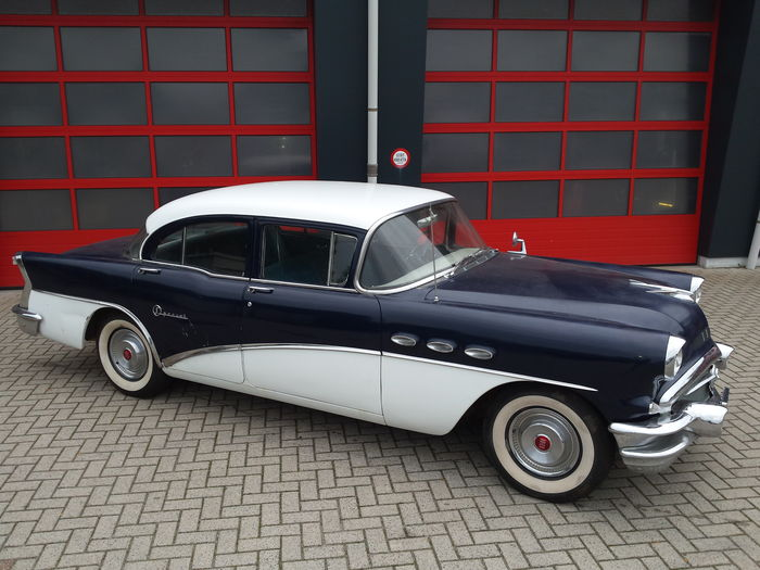 Buick 1956 special v8 4 door automatic 1956 catawiki for 1956 buick special 4 door hardtop