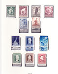 Check out our Austria 1948/1960 - Collection between ANK 838 and 1125 virtually complete, in a ring binder