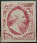 Check out our The Netherlands 1852 - King William III First emission - NVPH 2, with certificate