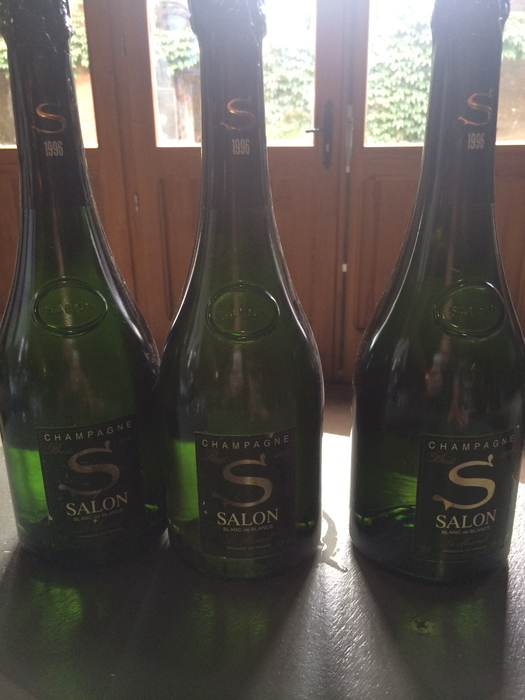 1996 salon cuvee 39 s 39 le mesnil blanc de blancs 3 bottles for 1996 salon champagne
