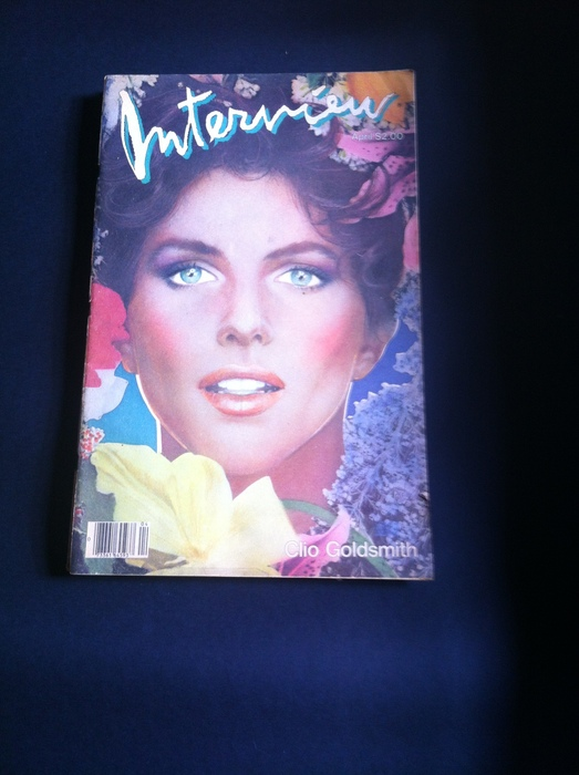Andy Warhol Interview Magazine August 1978 O.J. Simpson Jane Holzer