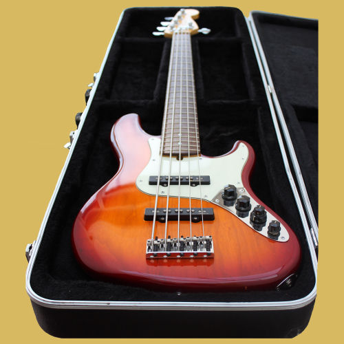 bass 5 string fender american deluxe jazz bass catawiki. Black Bedroom Furniture Sets. Home Design Ideas