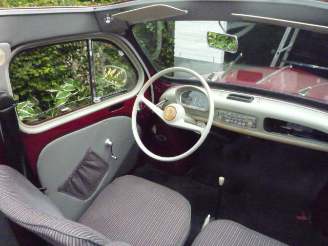 Renault 4cv d capotable 1956 catawiki for Interieur 4cv