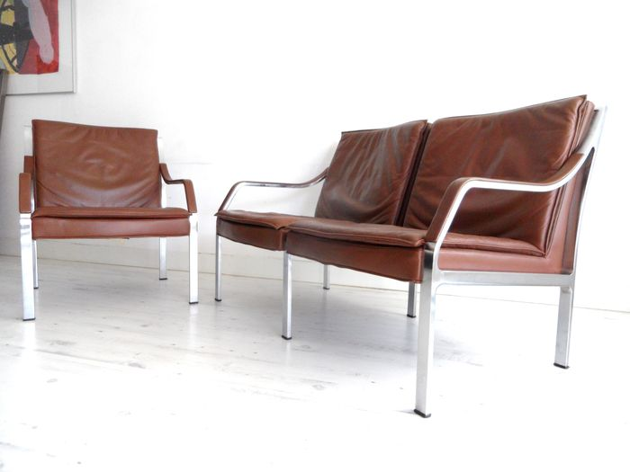 Walter knoll fauteuil et canap deux places catawiki for Canape walter but