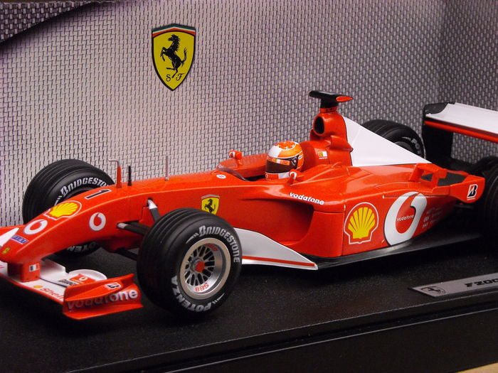 ferrari f2001 michael schumacher - photo #4
