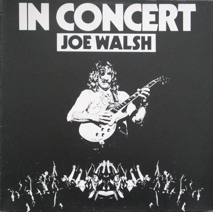 joe walsh a lot of 2 albums lp in concert dutch pressing 1976 label abc records lp. Black Bedroom Furniture Sets. Home Design Ideas