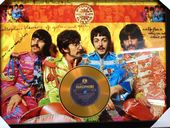 """Check out our The Beatles Gold CD Display  """"Sgt Peppers Lonely Hearts Club Band"""" -  Vintage Beatles"""