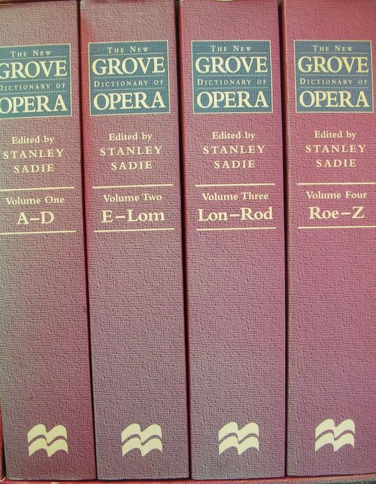 New Grove dictionary of opera