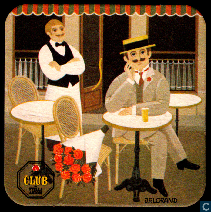 Beer mats - France - Club de Stella Artois