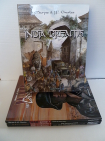 India Dreams 1 t/m 5 -  War and Dreams 1 t/m 3  - 8 x 1e druk + 8 x Hardcover + 1 x Box - (2002/2009)