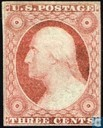 "Oldest item - Presidents with inscription ""US POSTAGE"", type 2"