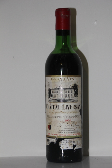 1970 chateau liversan haut medoc 1 bottle catawiki for Chateau liversan