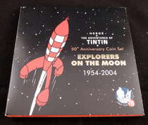 Hergé - Tintin - Coffret Explorers on the moon - 25 pièces - (2004)