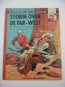Jack Diamond - Collectie Jong Europa 10 - Storm over de Far-West - sc - 1e druk - (1961)