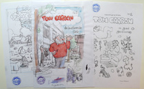 Cromheecke, Luc -  3 schetsen voor covers - Tom Carbon - (2010)