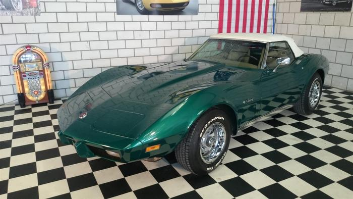 chevrolet corvette c3 stingray cabrio 1975 catawiki. Black Bedroom Furniture Sets. Home Design Ideas