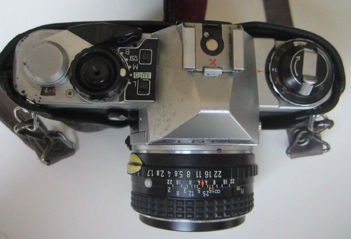 how to clean pentax me super
