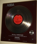 "Check out our ABBA ""Arrival"" Platinum Record Award 1980 Holland NVPI"