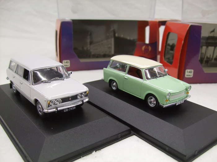 ist models schaal 1 43 trabant 601 kombi 1965 polski. Black Bedroom Furniture Sets. Home Design Ideas
