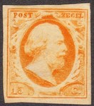 Check out our The Netherlands 1852 - King William III First stamp issue - NVPH 3, with expert's attest