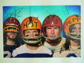 Check out our Red Hot Chili Peppers - original photo signed by all members