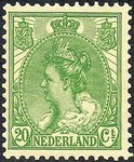 Check out our The Netherlands 1899 - Wilhelmina 'Fur Collar' type - NVPH 68, with photo certificate