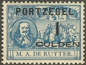 Check out our The Netherlands 1907 - Postage due stamp with De Ruyter overprint - NVPH P43