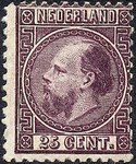 Check out our The Netherlands 1867 - King William III Third stamp issue - NVPH 11
