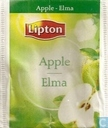 Tea bags and Tea labels - Lipton - Apple