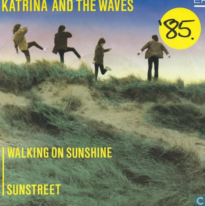 walking on sunshine de katrina and the waves: