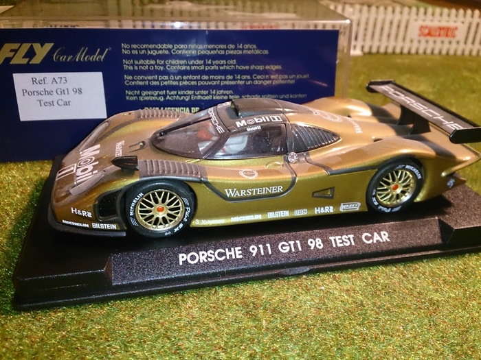 fly schaal 1 32 porsche 911 gt1 98 test car slot car catawiki. Black Bedroom Furniture Sets. Home Design Ideas