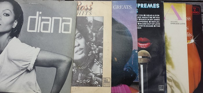 Diana ross and the supremes lot of 6 lp s