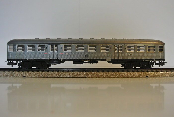 M rklin h0 4083 x 2 4042 trois voitures silberlinge de for Interieur 51 berlin