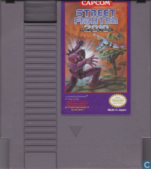 street fighter 2010 the final fight nintendo nes