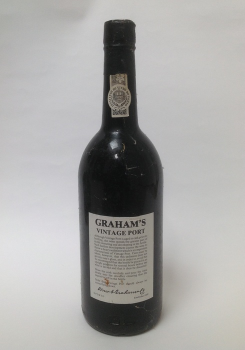 GRAHAMS VINTAGE PORT 1977 - wineandcocom